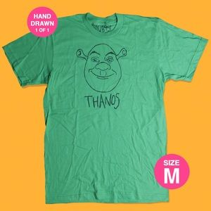Shrek Thanos (HAND DRAWN 1 of 1)
